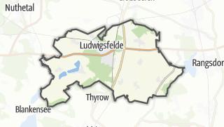 Cartina / Ludwigsfelde