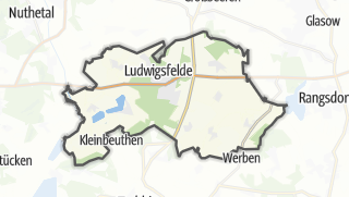 Carte / Ludwigsfelde