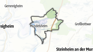 地图 / Mundelsheim