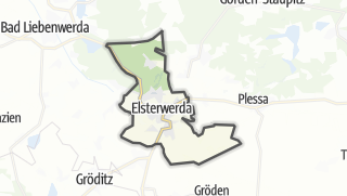 Hartă / Elsterwerda