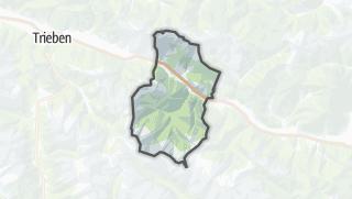 מפה / Wald am Schoberpaß