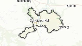מפה / Schwäbisch Hall