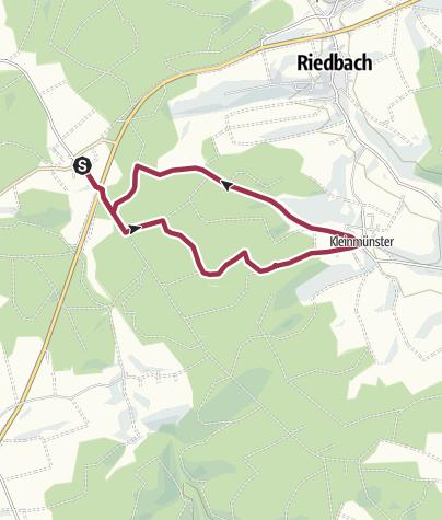 Karte / Kreuzthal - Kleinmünster