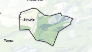 Mapa / Mervelier