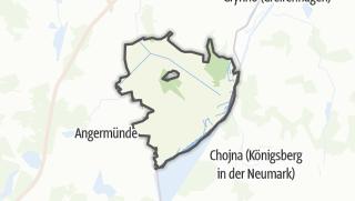 Karte / Schwedt/Oder