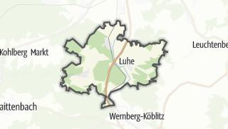 Cartina / Luhe-Wildenau