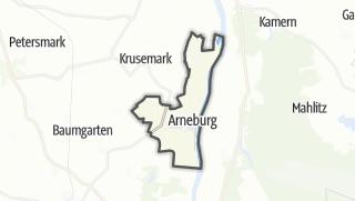 Mapa / Arneburg