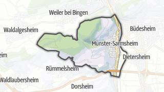 Karte / Münster-Sarmsheim