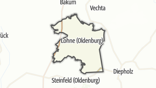 Cartina / Lohne (Oldenburg)