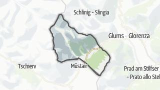 Karte / Taufers im Münstertal