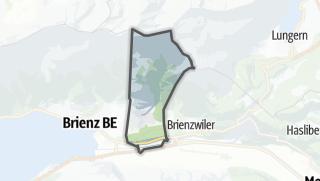 מפה / Hofstetten bei Brienz