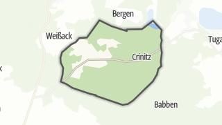 Hartă / Crinitz