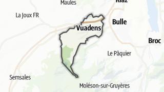 מפה / Vuadens
