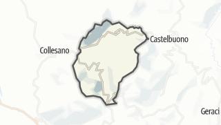 Carte / Isnello