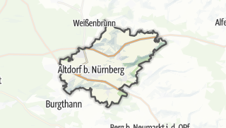 Map / Altdorf near Nuremberg
