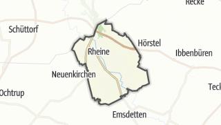 מפה / Rheine