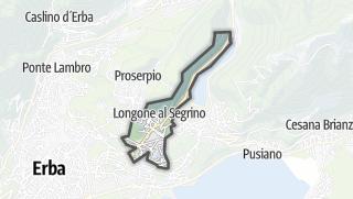 Kartta / Longone al Segrino