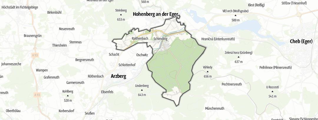 Hartă / Drumeţii in Schirnding