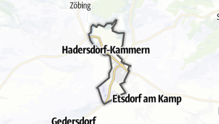 Cartina / Hadersdorf-Kammern