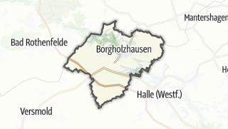 מפה / Borgholzhausen