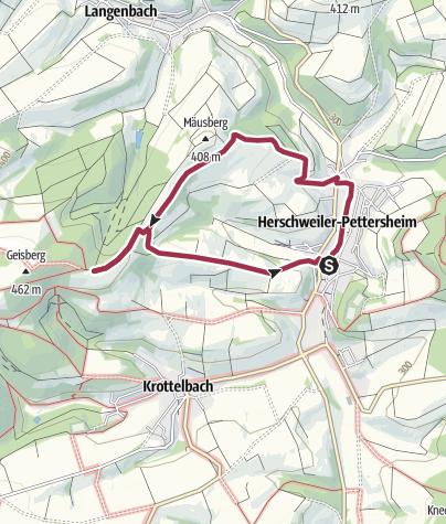 Karte / HP1 - Panoramaweg