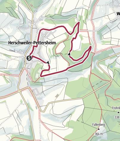 Karte / HP2 - Villa Rustica Weg