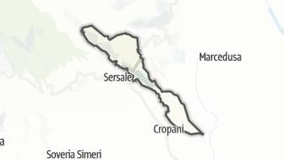 Mapa / Cerva