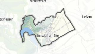 Karte / Biersdorf am See