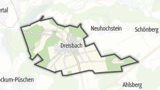 Mapa / Dreisbach