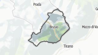Mapa / Brusio