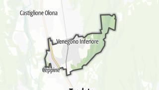 Mapa / Venegono Inferiore