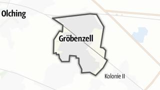 地图 / Gröbenzell