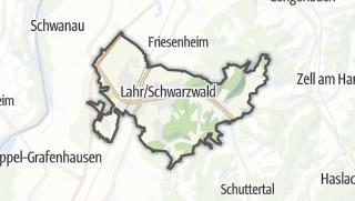Karte / Lahr/Schwarzwald