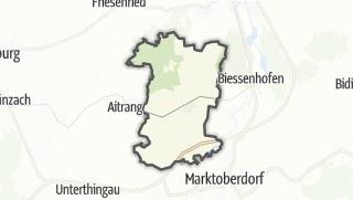 Map / Ruderatshofen