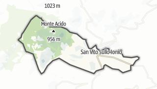 Mapa / San Vito sullo Ionio