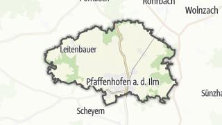 מפה / Pfaffenhofen