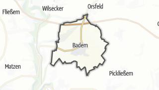 Karte / Badem