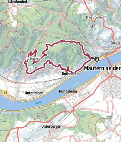 Wachau Karte.Rundwanderung Loibnerberg Wachau Wanderung Outdooractive Com