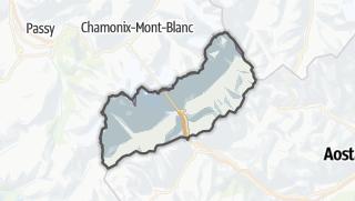 Karte / Courmayeur
