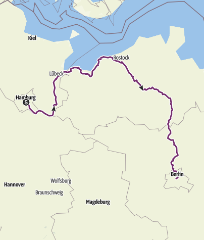 Map / hamburg-berlijn tour