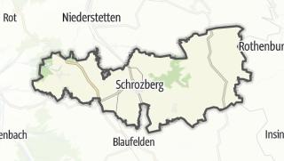 מפה / Schrozberg