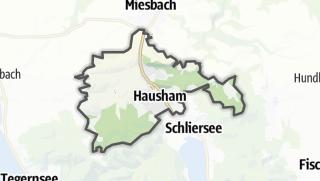 地图 / Hausham