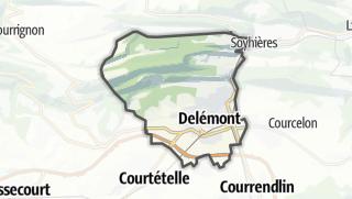 Mapa / Delémont