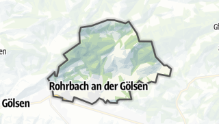 Mapa / Rohrbach an der Gölsen