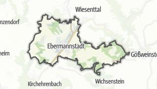 Cartina / Ebermannstadt