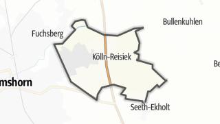 Carte / Kölln-Reisiek