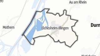 Karte / Elchesheim-Illingen
