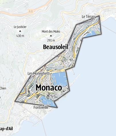 Karte / Monaco