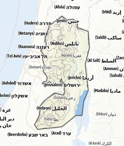 Map / West Bank