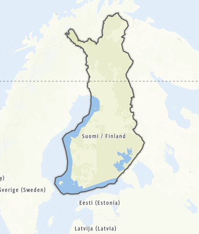 Map / Finland